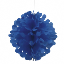 "Flutter Ball Paper Lantern - 12"" Royal Blue"